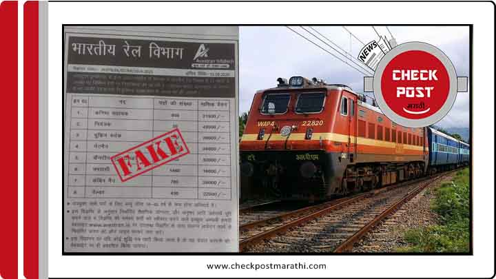 Railway fake call of recruitment feature image