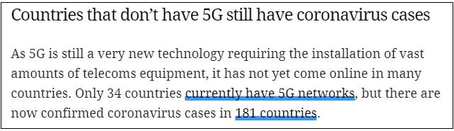 corona virus and 5G network checkpost marathi