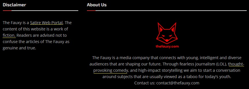thefauxy disclaimer and about us content checkpost marathi