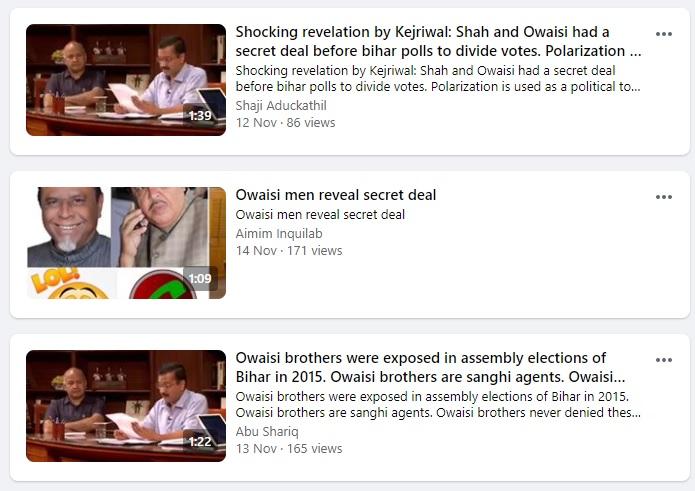 shah owaisi secret deal viral fb posts