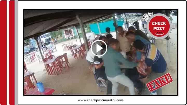 bharuch CBI arrested kishore panchal not mohhmed siraj anwar check post marathi fact